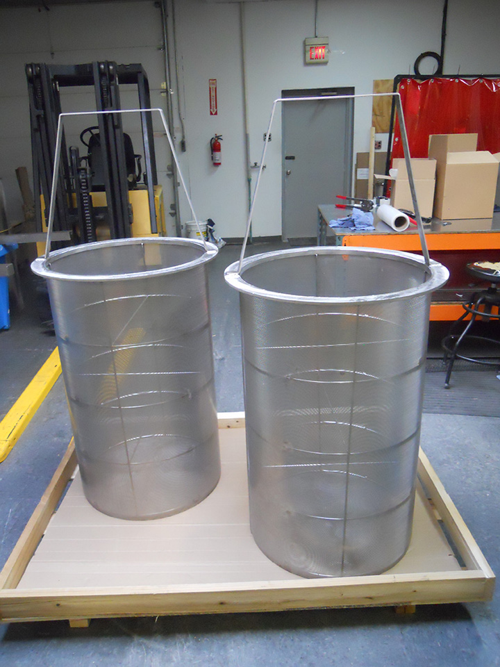 Replacement strainer baskets screens filter bag