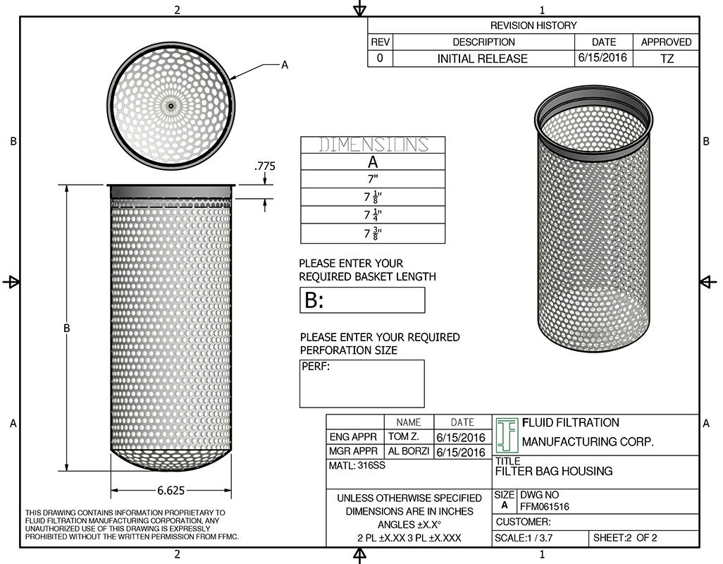 Replacement Strainer Baskets, Screens, Filter Bag Baskets ... Lobster Diagram