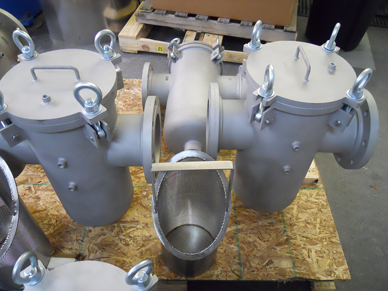 Fabricated Amp Custom Strainer Products